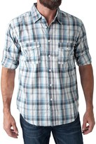 Seven7 Printed Shirt - Roll-Up Long Sleeve (For Men)
