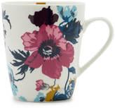 Joules Single Bone China Mug - Cream Poppy Posy