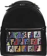 Fendi Patterned Pocket Backpack