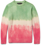 The Elder Statesman - Dégradé Cashmere Sweater