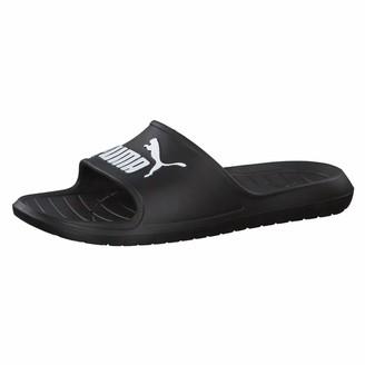 Puma Unisex Adults' DIVECAT V2 Beach and Pool Shoes Black White 5 UK