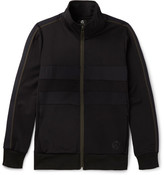 Paul Smith Panelled Jersey Zip-Up Sweatshirt
