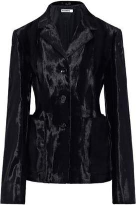 Jil Sander Cotton-blend Faux Fur Jacket