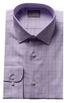 Ike Behar Glen Plaid Dress Shirt.