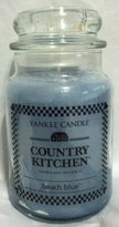 Yankee Candle Beach Blue Country Kitchen Large Candle 22oz