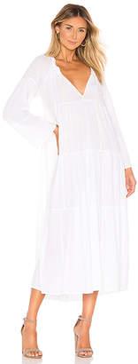 9seed 9 Seed Majorca Ruffle Tier Maxi Dress