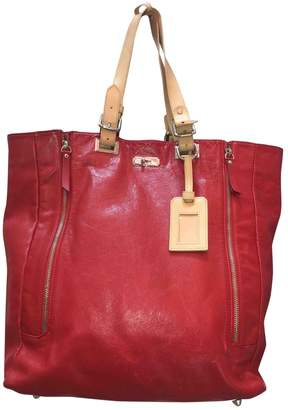Betty Jackson Red Leather Handbags