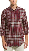 Theory Menlo Flannel Woven Shirt