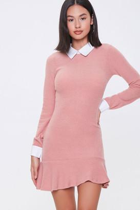 Forever 21 Chelsea Collar Mini Dress