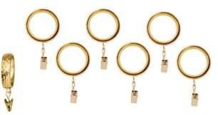 Michael Aram Curtain Clip Ring 7-Piece Set