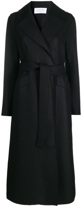 Harris Wharf London Tie-Waist Wool Coat