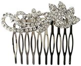 DCNL Hair Accessories Rhinestone Scroll Comb