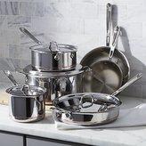 Crate & Barrel All-Clad ® Copper Core 10-Piece Cookware Set with Bonus