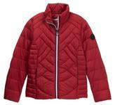 Bernardo Ultra Light Down Packable Jacket (Big Girls)
