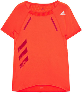 adidas Printed Stretch-mesh Top