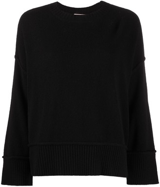 Twin-Set Button-Side Sweater