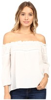 Roxy Beach Fossil Cold Shoulder Top