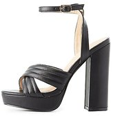 Charlotte Russe Chunky Platform Sandals