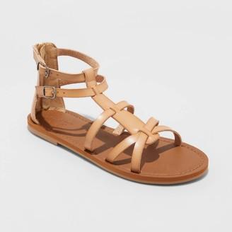 Universal Thread Women's Alva Faux Leather Gladiator Sandals - Universal ThreadTM