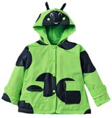 Zhuannian1 Zhuannian Little Girls Boys Ladybug Raincoat Jackets