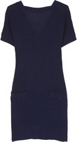 See by Chloé Waffle knit dress