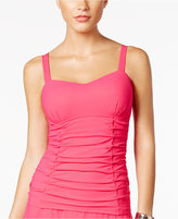 Profile by Gottex Origami Bra-Sized Underwire Ruched Tankini Top