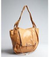 Kooba camel leather 'Zoey' flap front shoulder bag