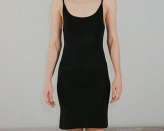 Base Range Black Slip Dress - S | black - Black/Black