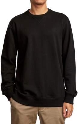 RVCA Crewneck Cotton Sweatshirt