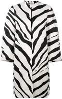 Lanvin zebra print coat