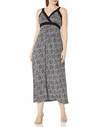Karen Kane Women's Plus Size Banded Maxi Dress
