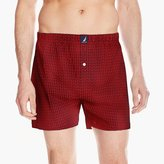 Nautica Men's Anchor Print Knit Boxer