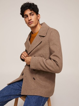 John Lewis & Partners The Kilo Peacoat, Natural