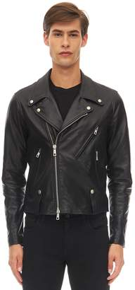 Giorgio Brato Chiodo Leather Jacket