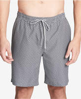 "Calvin Klein Men's Basket Weave-Print 19.5"" Swim Trunks"