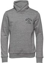 Bench Boys Over Head Funnel Sweatshirt Grey Marl