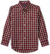 Ralph Lauren Checked Long-Sleeve Shirt, Toddler Boys (2T-5T) & Little Boys (2-7)