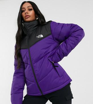 The North Face Saikuru puffer jacket in purple Exclusive to ASOS