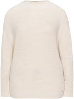 Jette Joop Plus Size Mandarin collar knit jumper