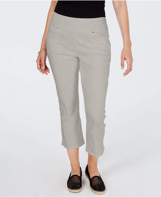 INC International Concepts Inc Curvy Pull-On Skinny Cropped Pants