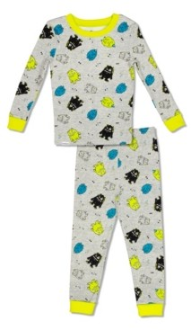 with me. Free 2 Dream Boys Toddler, Little and Big Monster Print 2 Piece Cotton Pajama Set with Grow Cuffs