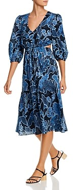 Parker Dixie Printed Tie-Waist Dress - 100% Exclusive