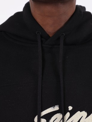 Saint Laurent Black 50s Signature Hoodie
