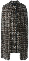 Dolce & Gabbana scarf detail coat