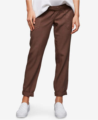A Pea in the Pod Maternity Canvas Jogger Pants