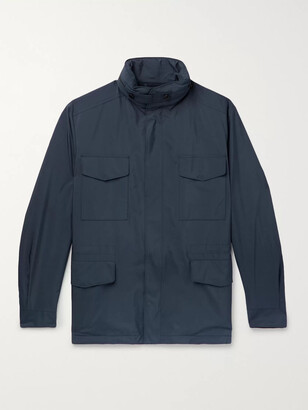 Loro Piana Traveller Windmate Storm System Shell Hooded Field Jacket