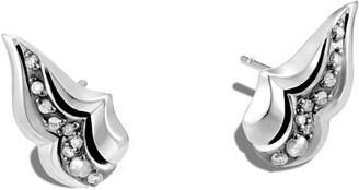 John Hardy John Lahar Diamond Stud Earrings