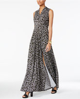 MICHAEL Michael Kors Augusta Printed Maxi Dress