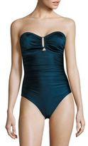 Zimmermann One-Piece Separates Wide Link Swimsuit