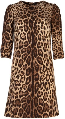 Dolce & Gabbana Animal Printed Dress